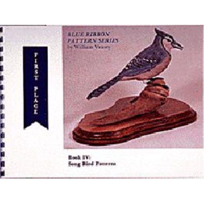 Blue Ribbon Pattern Series #4 Song Birds