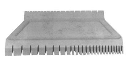 Graining comb, GRADUATED COMB