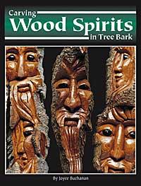 Carving Wood Spirits in Tree Bark