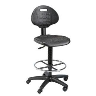ALVIN® LabTek™ Utility Chair Black