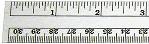 "Ruler, 12""/30cm Flexible Inch/Metric CT-36"
