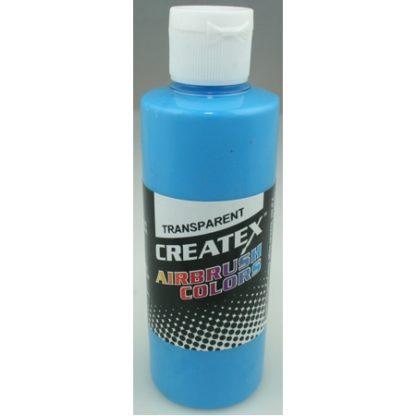 Createx Airbrush Transparent Carribean Blue 4 0z.