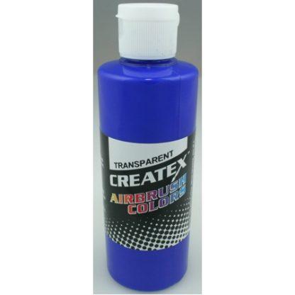 Createx Airbrush Transparent Ultramarine-Blue 4 0z.
