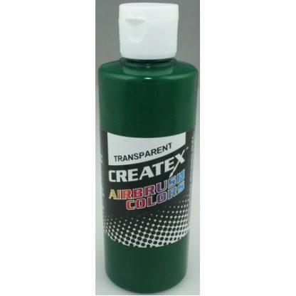 Createx Airbrush Transparent Brite Green 4 0z.