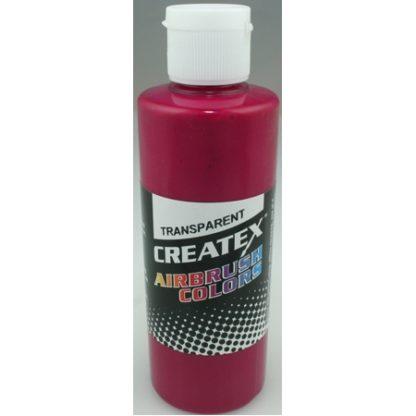 Createx Airbrush Transparent Fuschia 4 0z.