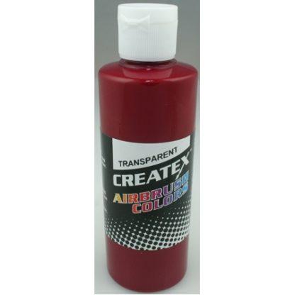 Createx Airbrush Transparent Burgundy 4 0z.