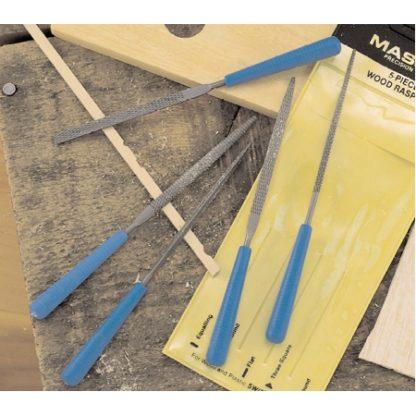 Rasp set with handles