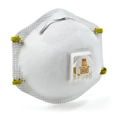 Respirator 3M™ Particulate  8511, N95 80/cs