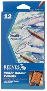 REEVES Watercolor Pencil Set/12