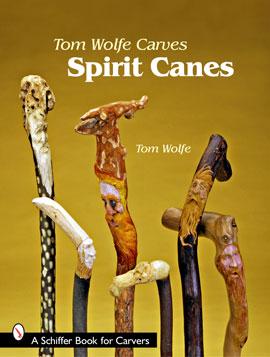 Tom Wolfe Carves Spirit Canes