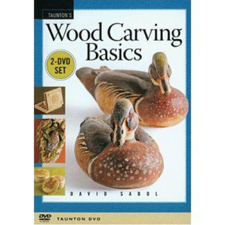 DVD - Wood Carving Basics, By David Sabol
