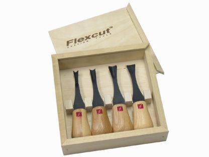 Flexcut FR404 Wide Format Palm Gouge Set