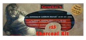 GENERALS CHARCOAL KIT
