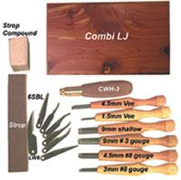 Warren Combi LJ - Carving Kit