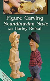DVD - Harley Refsal Figure Carving Scandinavian Style