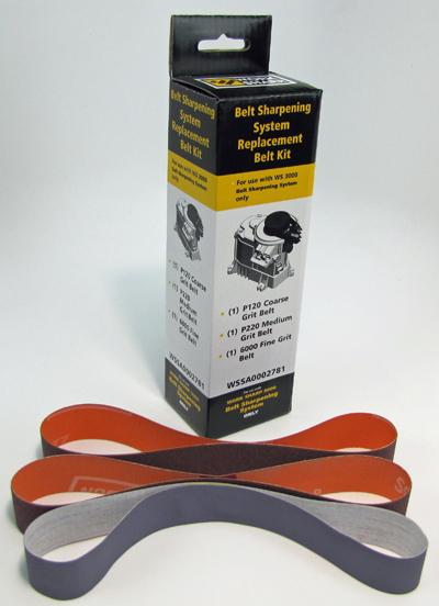 WORK SHARP WS3000 Belt Sharpening System Belt Kit