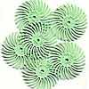 "Radial Bristle Discs 3/4"" 1 micron"