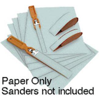 Wet/Dry Polishing Papers, 6,000 grit, 2 Micron Sheet Aqua