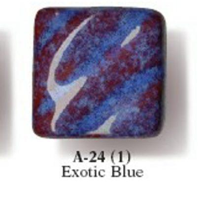 Artist's Choice Glazes - LEAD FREE - A-24 Exotic Blue, [O] Pint