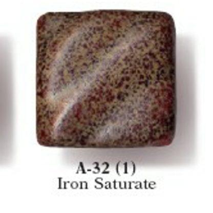 Artist's Choice Glazes - LEAD FREE - A-32 Iron Saturate, [O] Pi