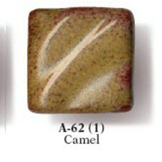 Artist's Choice Glazes - LEAD FREE - A-62 Camel, [O] Pint Liqui