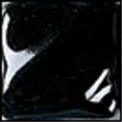 Gloss (LG) Glazes - LG-2 Black Lustre [O], 1 Pint Liquid