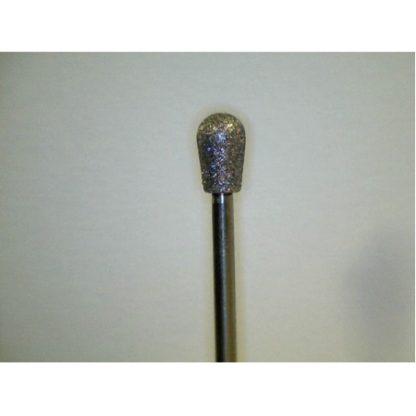 "Diamond Carver D-605 Lg-Pear 6.25mm (1/4"") 3/32"" Shank"