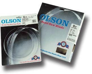 """Olson Bandsaw Blade, 93 1/2"""" x 1/16"""" W, 24 TPI, Reg. Tooth"""