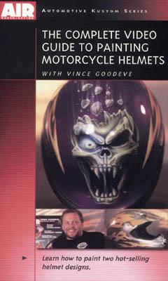 DVD - Vince Goodeve Complete Guide to Painting Motorcycle Helmet