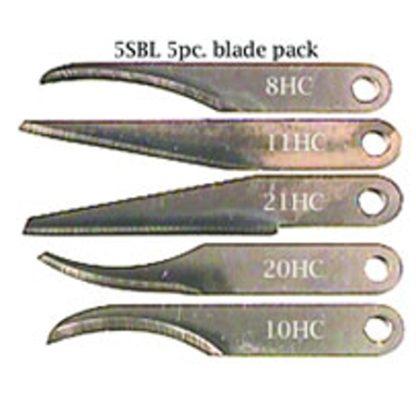 Warren Blades 5SBL - 5 Blade Assortment
