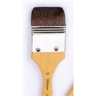 Kazan squirrel flat wash brush 1''