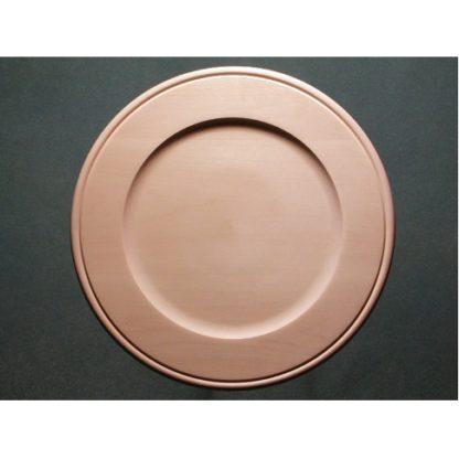 "Plate Basswood, Outside Beaded Rim, 10"""