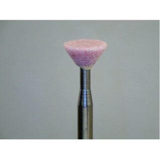 """3/32"""" Pink medium cut Inverted Cone 1/4"""" #613"""