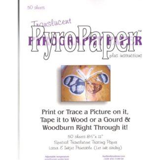 "PyroPaperâ""¢, Pyrography Paper"