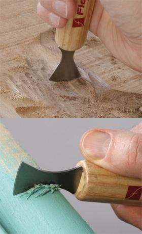 Carving Scraper Set, SK121 7 pc.