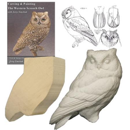 Kit screech owl