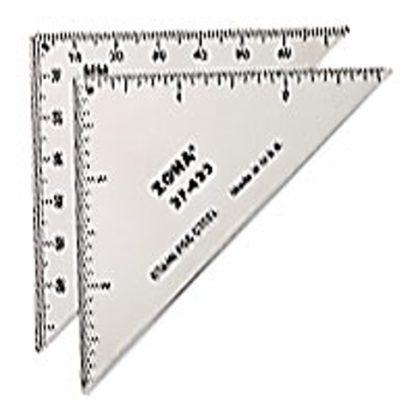 "3"" Triangle Ruler"
