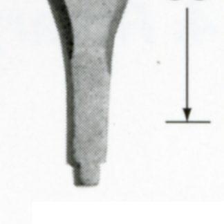 Automach #F2221 21 mm Flat Gouge