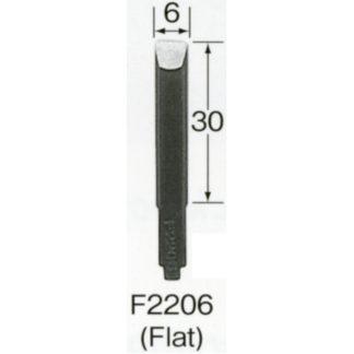 Automach #F2206 6 mm Flat Gouge