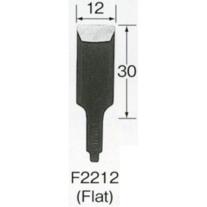 Automach #F2212 12 mm Flat Gouge