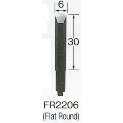 Automach #FR2206 6 mm Flat Round Gouge