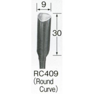 Automach #RC409 9 mm Round Bent Gouge