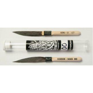 Mack Brush, Hanson King 13 pinstriping Brush #000