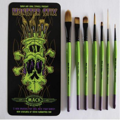 Mack Brush, Monster Stix