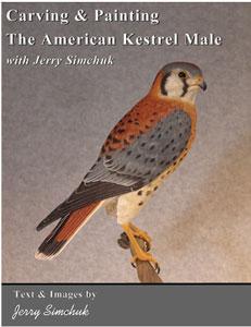 Carving & Painting the American Kestrel