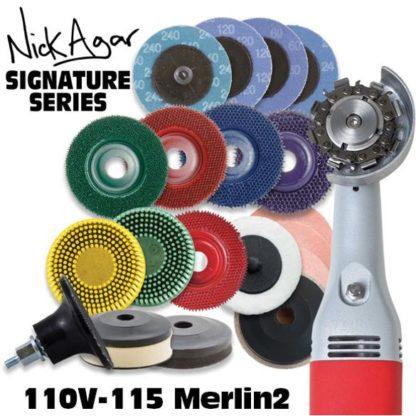 Merlin2 Nick Agar Signature Series Woodworking Set 110V