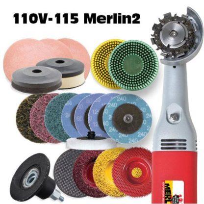 Merlin2 Deluxe Set w/110V Grinder