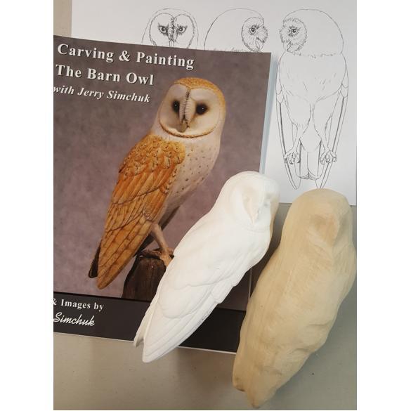New kit exclusive barn owl lifesize jerry simchuk tupelo