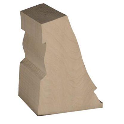 Falcon, Gyrfalcon  1/3 size, Bass Wood Cutout, Jerry Simchuk