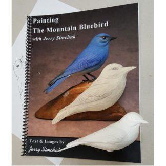 NEW KIT-MOUNTAIN BLUEBIRD Tupelo Rough-Out WOOD CARVING KIT